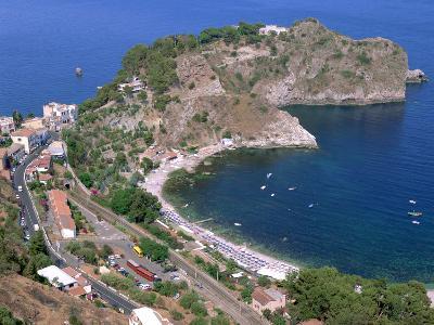 Capo Sant Andrea, Taormina, Sicily, Italy-Peter Thompson-Photographic Print