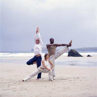 Capoeira And Yoga-Tony McConnell-Photographic Print