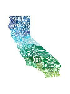 Typographic California Cool by CAPow