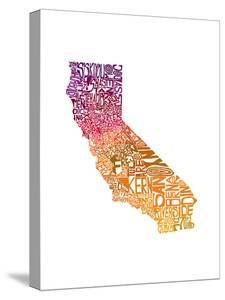 Typographic California Warm by CAPow