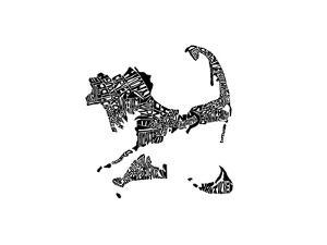 Typographic Cape Cod by CAPow