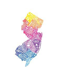 Typographic New Jersey Spring by CAPow