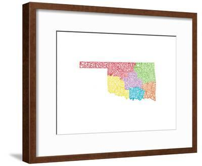 Typographic Oklahoma Regions
