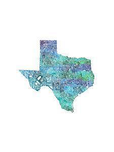 Typographic Texas Cool by CAPow