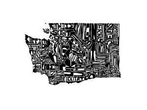 Typographic Washington by CAPow