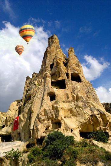 Cappadocia Houses-M Reza Faisal-Photographic Print