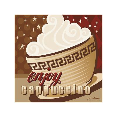 Cappuccino-P.j. Dean-Giclee Print