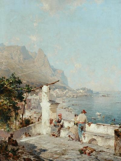 Capri, Golfe De Naples-Franz Richard Unterberger-Giclee Print