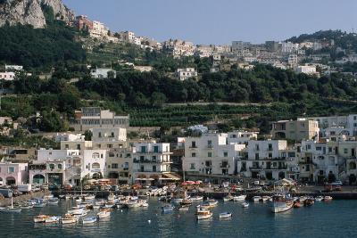 Capri Harbor-Vittoriano Rastelli-Photographic Print