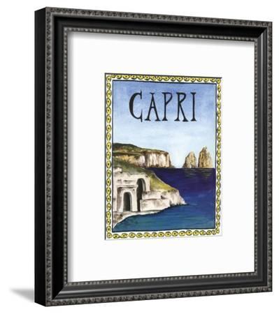 Capri-Katharine Gracey-Framed Art Print