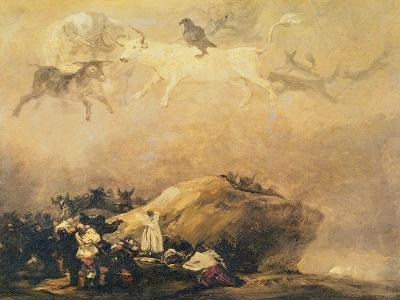 Capriccio Scene: Animals in the Sky-Francisco de Goya-Giclee Print