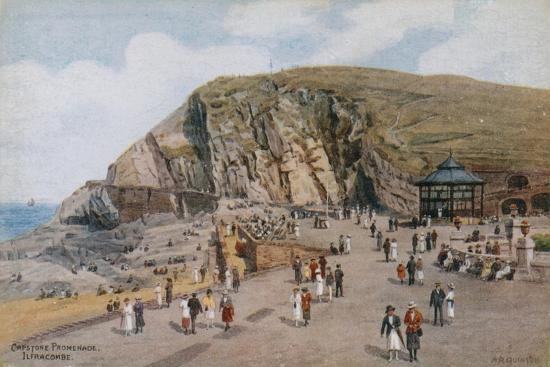 Capstone Promenade, Ilfracombe-Alfred Robert Quinton-Giclee Print