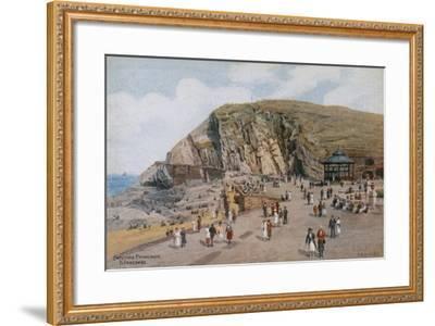 Capstone Promenade, Ilfracombe-Alfred Robert Quinton-Framed Giclee Print