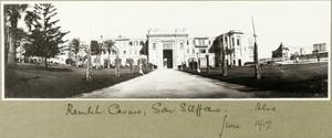Ramleh Casino, San Stefano, June 1917 by Capt. Arthur Rhodes