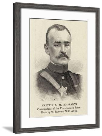 Captain a M Boisragon--Framed Giclee Print