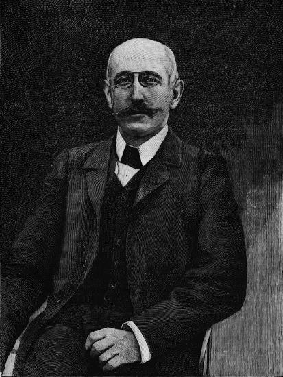 Captain Alfred Dreyfus, French soldier disgraced in the Dreyfus Affair, c1900-Unknown-Giclee Print