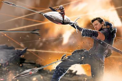 Captain America: Civil War - Hawkeye--Art Print