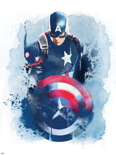 Captain America: Civil War--Art Print