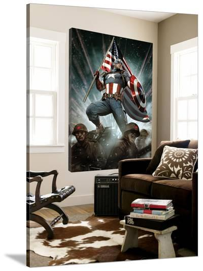 Captain America: Living Legend #1 Cover: Captain America-Adi Granov-Loft Art