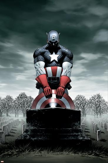 Captain America No.4 Cover: Captain America-Steve Epting-Poster