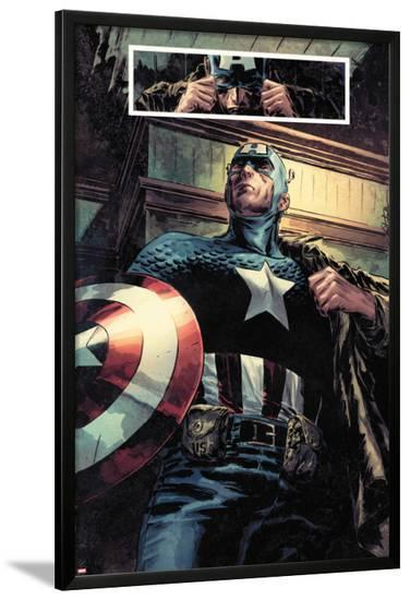 Captain America: Patriot No.1: Captain America Standing-Mitchell Breitweiser-Lamina Framed Poster