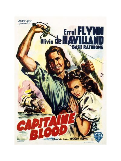 Captain Blood - Movie Poster Reproduction--Art Print