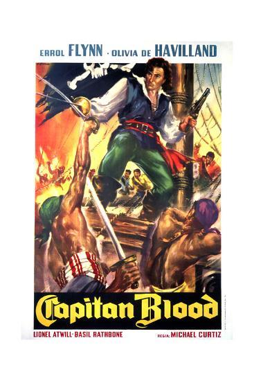 Captain Blood Movie Poster Reproduction Art Print By Art