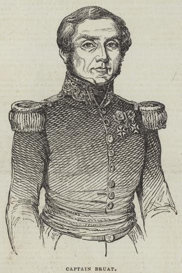 Captain Bruat--Giclee Print