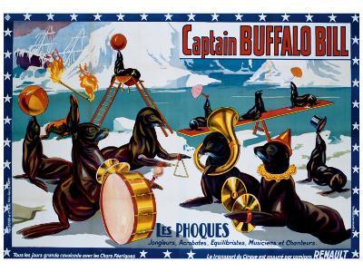 Captain Buffalo Bill--Giclee Print
