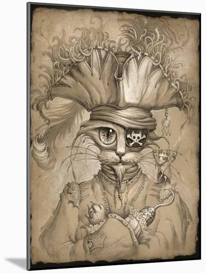 Captain Claw-Jeff Haynie-Mounted Giclee Print