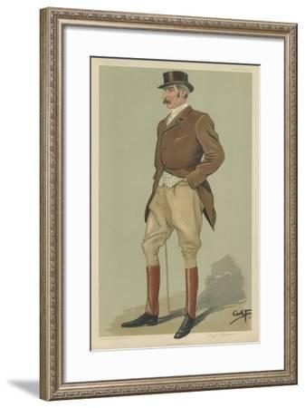 Captain David Longfield Beatty--Framed Giclee Print