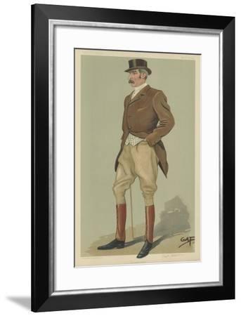 Captain David Longfield Beatty--Framed Giclee Print