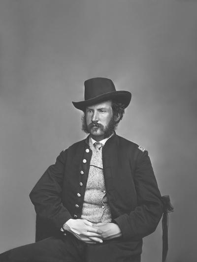 Captain Edward P. Doherty Portrait, Circa 1861-1865-Stocktrek Images-Photographic Print