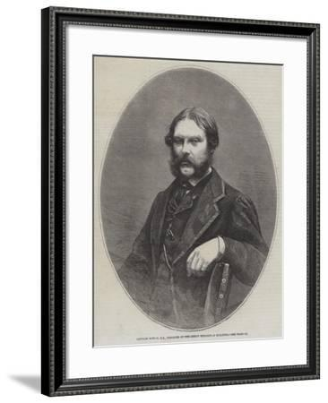 Captain Fowke, Re, Designer of the Great Exhibition Building--Framed Giclee Print