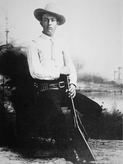 Captain Frank Hamer, c.1910--Photographic Print