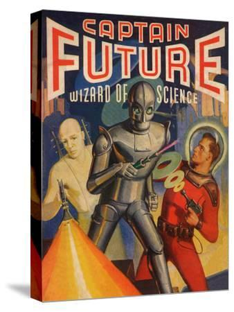 Captain Future Wizard of Science Television Poster