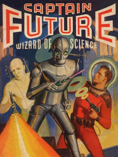 Captain Future Wizard of Science Television Poster--Poster