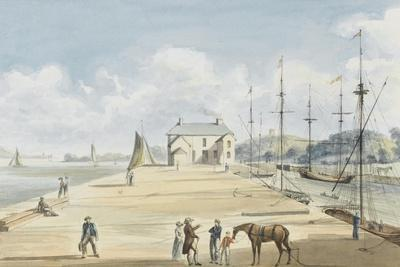 Turf Entrance to Exeter Canal, 1829