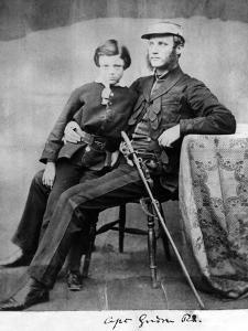 Captain Gordon R.E., C.1855