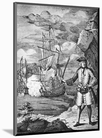 Captain Henry Avery, Pirate-null-Mounted Premium Giclee Print