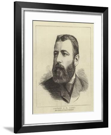 Captain J B Carey--Framed Giclee Print