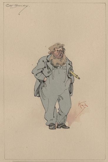 Captain Jack Bunsby, c.1920s-Joseph Clayton Clarke-Giclee Print