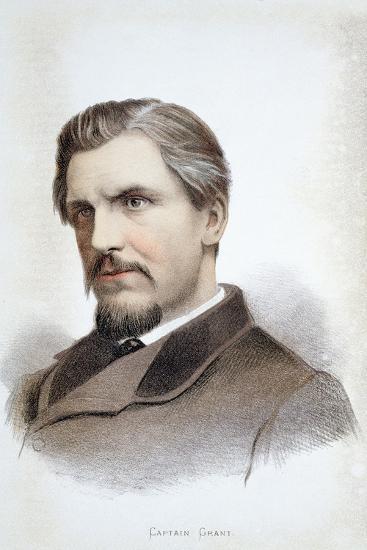 Captain James Augustus Grant, Scottish explorer, 19th century-Unknown-Giclee Print