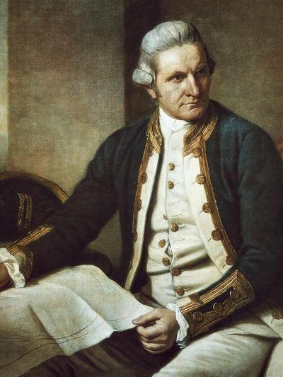 Captain James Cook-Nathaniel Dance-Holland-Art Print