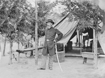Captain James O'Rourke of the 4th New York Heavy Artillery-Stocktrek Images-Photographic Print
