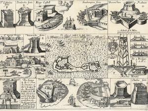 Captain John Smith's 1624 Map of the Somers Isles (Bermuda)