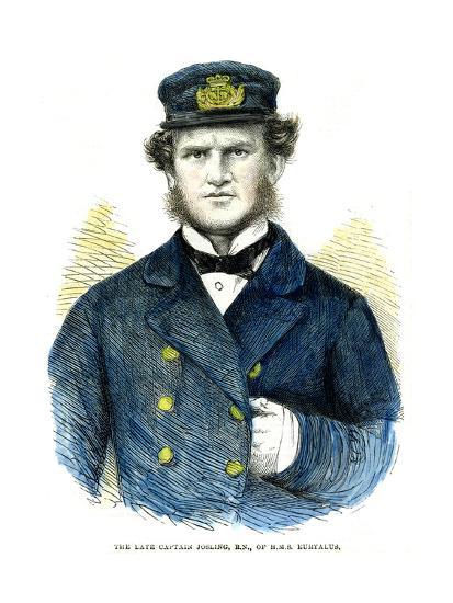 Captain Josling, of HMS 'Euryalus, 1863--Giclee Print