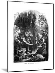 Captain Kidd Burying His Treasures, 1872