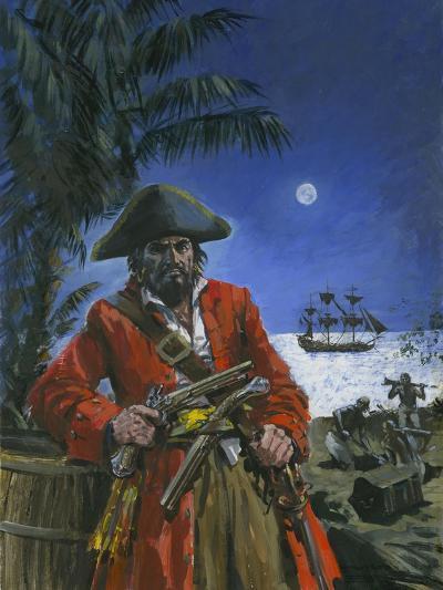 Captain Kidd-Graham Coton-Giclee Print