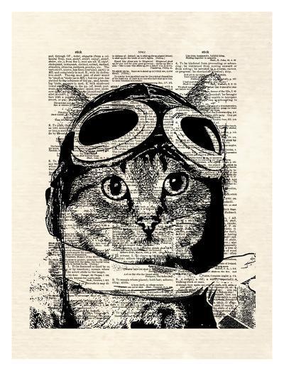 Captain Kitty-Matt Dinniman-Art Print